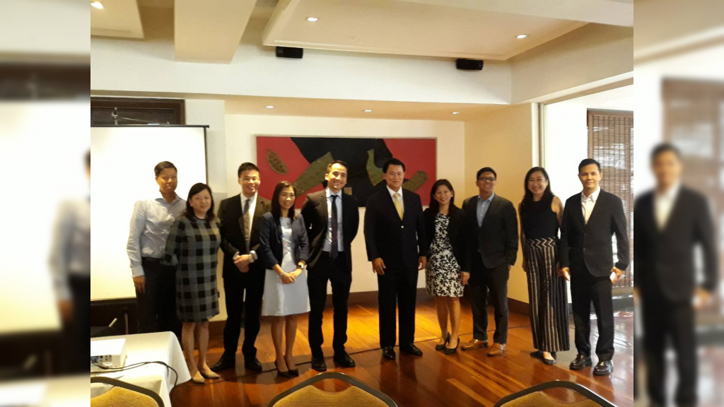 FMAP GMM Sponsored by Shell Petroleum Corporation (in cooperation with BPI Securities Corp.) From left to right: Paul Joseph Garcia; Josefina T. Tuplano, FMAP Trustee; Riche Levin Lim, Head of Research OIC, BPI Securities Corp.; Cristina P. Arceo, FMAP Board of Senior Advisors; Haj Narvaez, President, BPI Securities Corp.; Jerome Pascual, Chief Financial Officer, Pilipinas Shell Petroleum Corp.; Helen G. Oleta, FMAP Trustee; J Vincent R. Daffon, FMAP Trustee; Alexandra Deveras, FMAP Board of Senior Advisors; Marvin Fausto