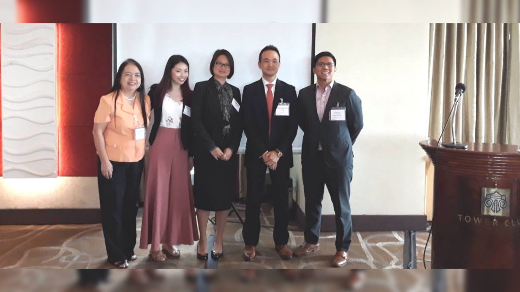 MSCI Learning Session on Factor Investing and Related Strategies last Mar 22, 2018 In the Photo are MSCI's Melissa Lim, Audrey Choi and SE Lee